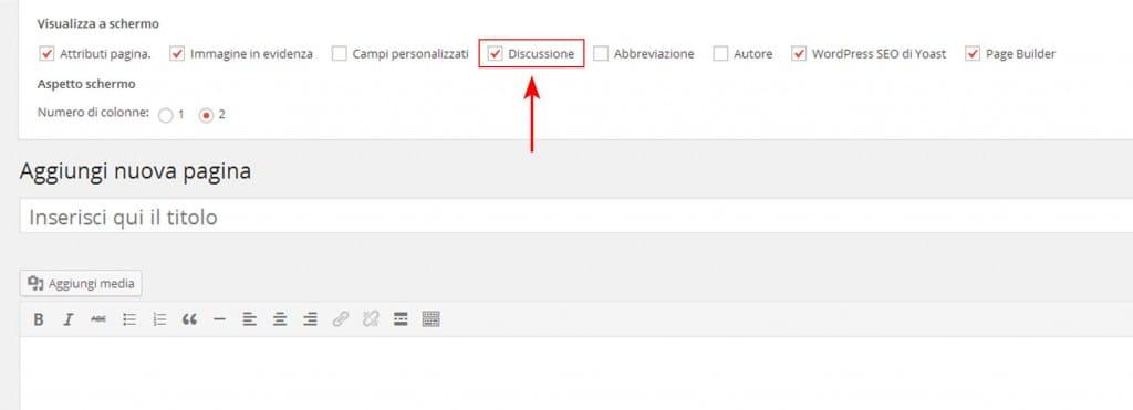 attivare-discussione-commenti-wordpress