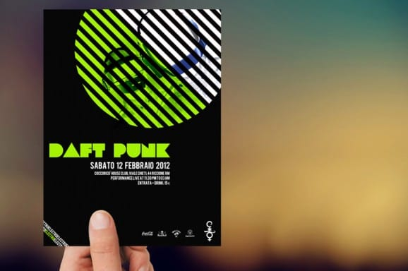 Flyer Daft Punk
