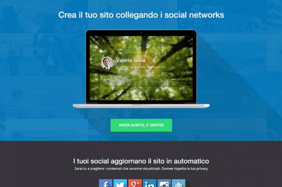 Homepage Domee
