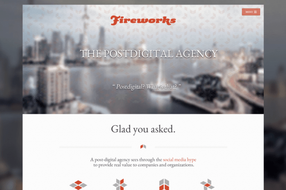 Fireworks – Sito web