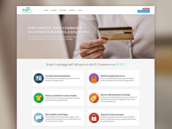 Pop.it – E-Commerce Page