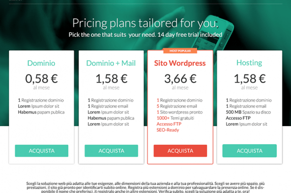Pricing Page Design – Pop.it