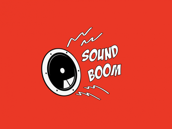 SoundBoom – Logo Design
