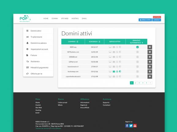 Pop.it – Domains Panel