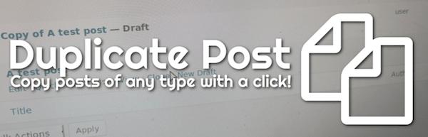 Duplicate Post Plugin duplicare articoli e pagine WordPress