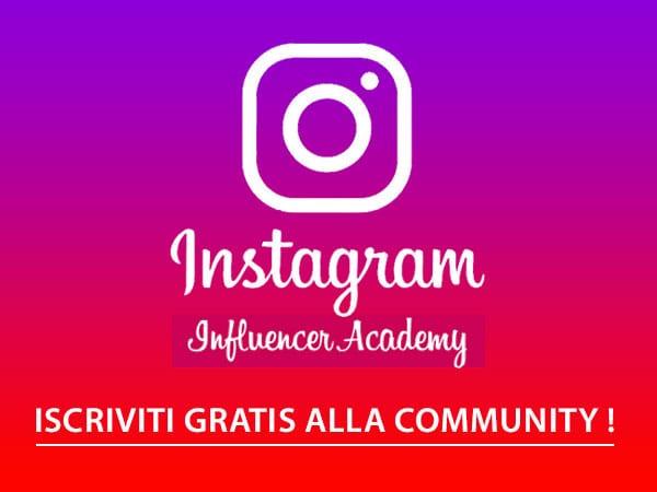 diventare influencer - instagram academy